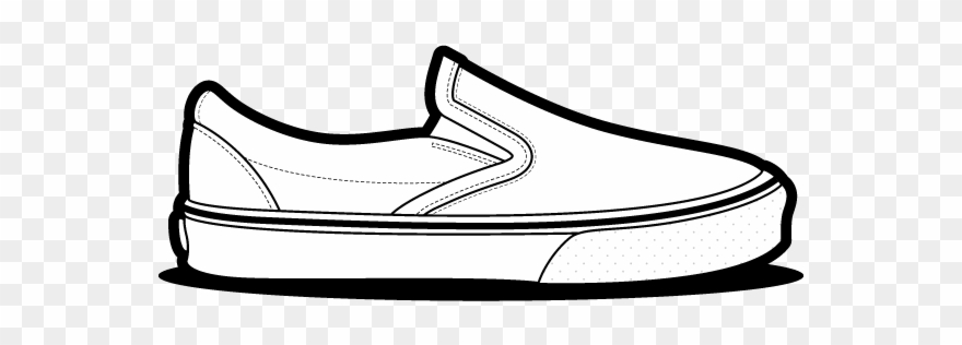 Drawn Vans Clip.