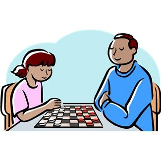 Checkers Clipart.