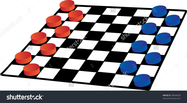 Color Checkersvector Stock Vector 38648638.