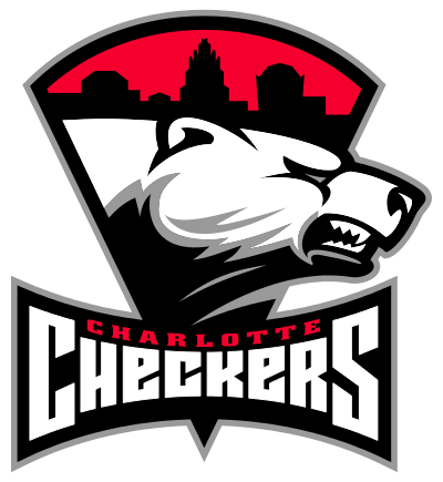 Charlotte Checkers Logo transparent PNG.