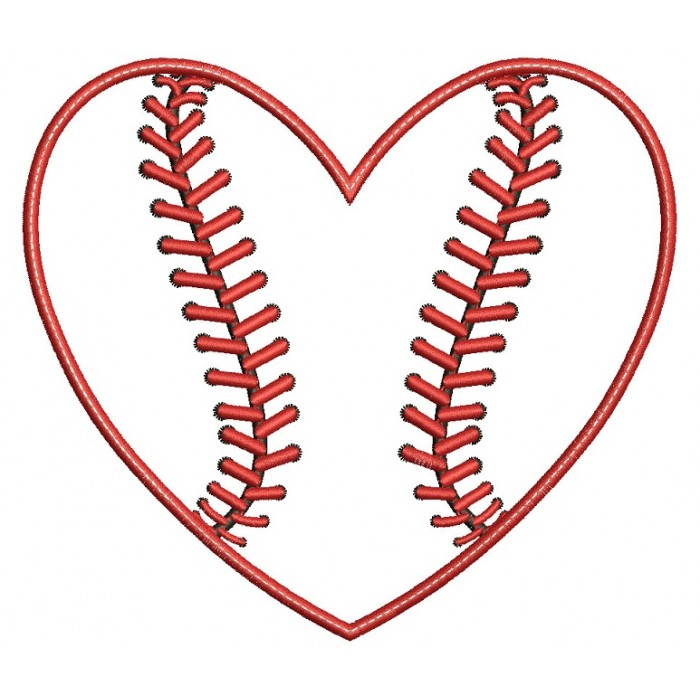 Collection Baseball With Heart Shaped Stitching Pictures.