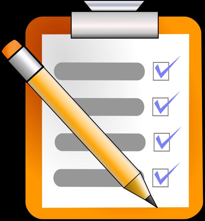 List clipart check list, List check list Transparent FREE.