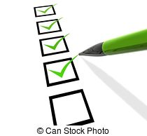 Checklist Clipart and Stock Illustrations. 12,828 Checklist vector.