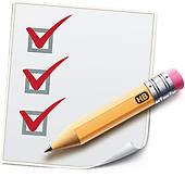 Checklist Clip Art.