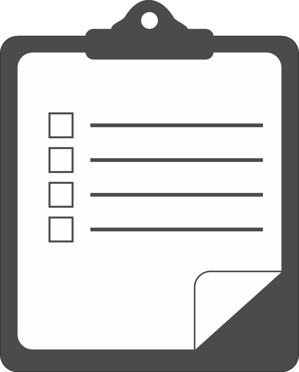 Today Checklist Clipart Clip art of Checklist Clipart #3816.