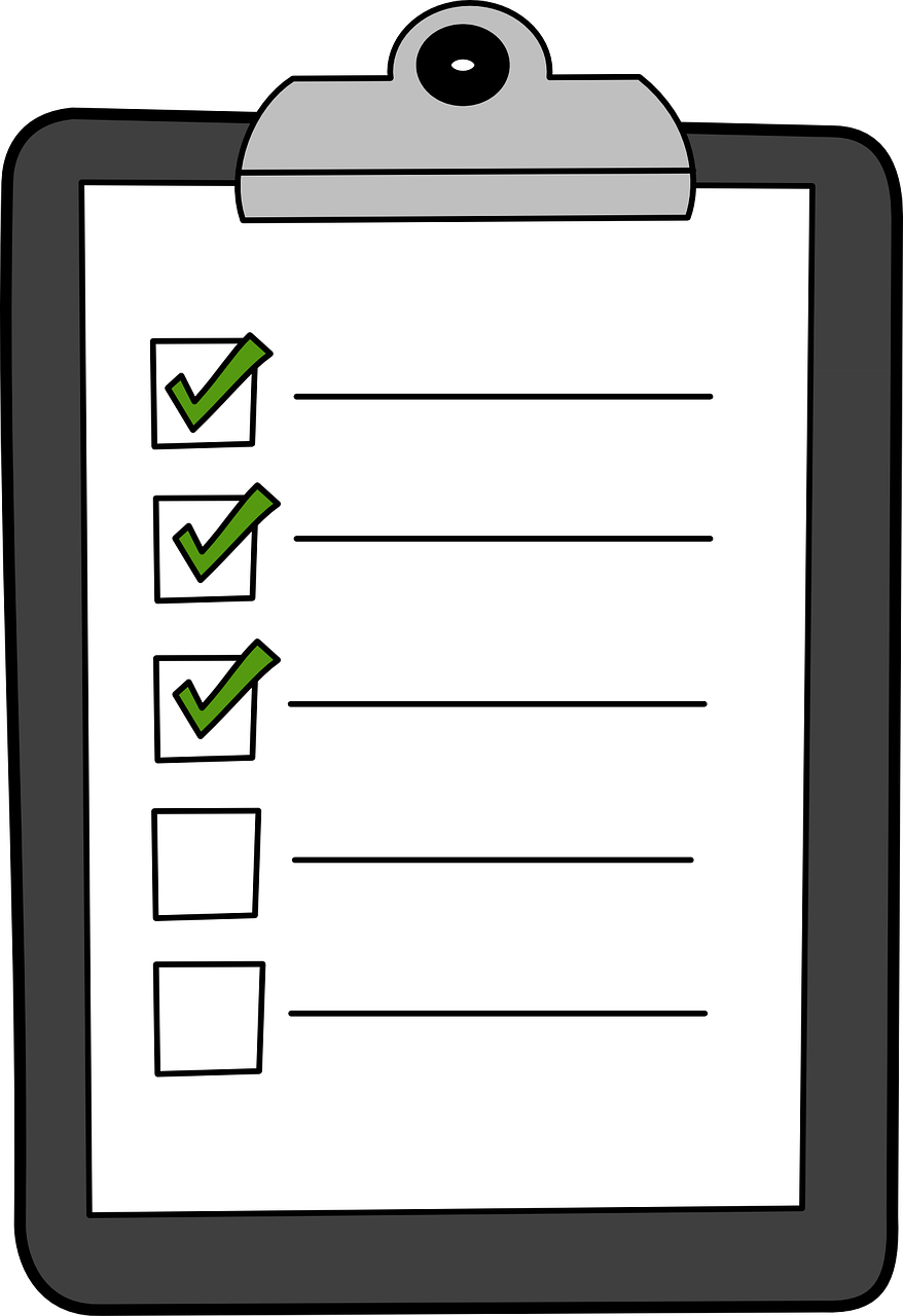 Checklist Cliparttransparent png image & clipart free download.