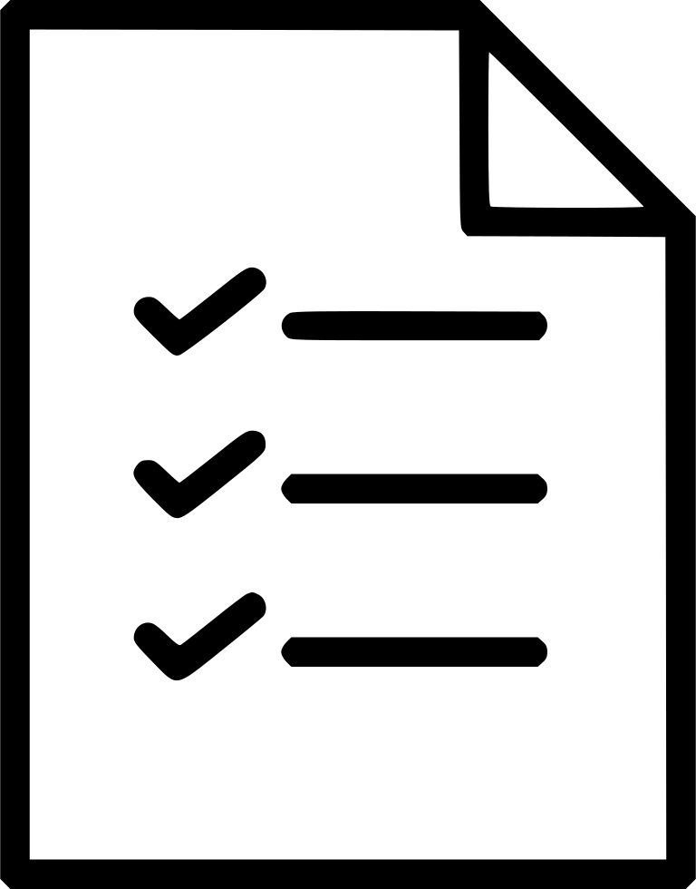 Checklist Svg Png Icon Free Download (#446233).