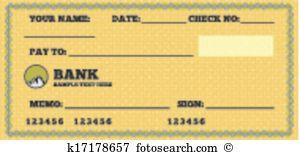 Blank check Clipart Illustrations. 3,672 blank check clip art.