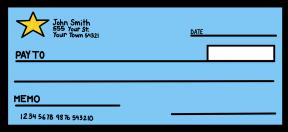 Bank Checks Clipart.