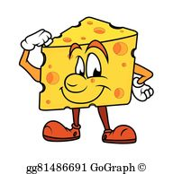 Cheddar Cheese Clip Art.