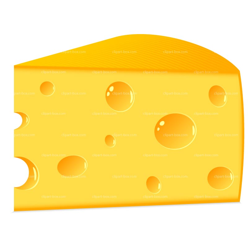 Cheddar cheese clipart.
