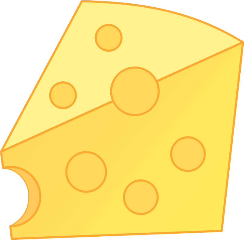 Clipart Cheddar Cheese.