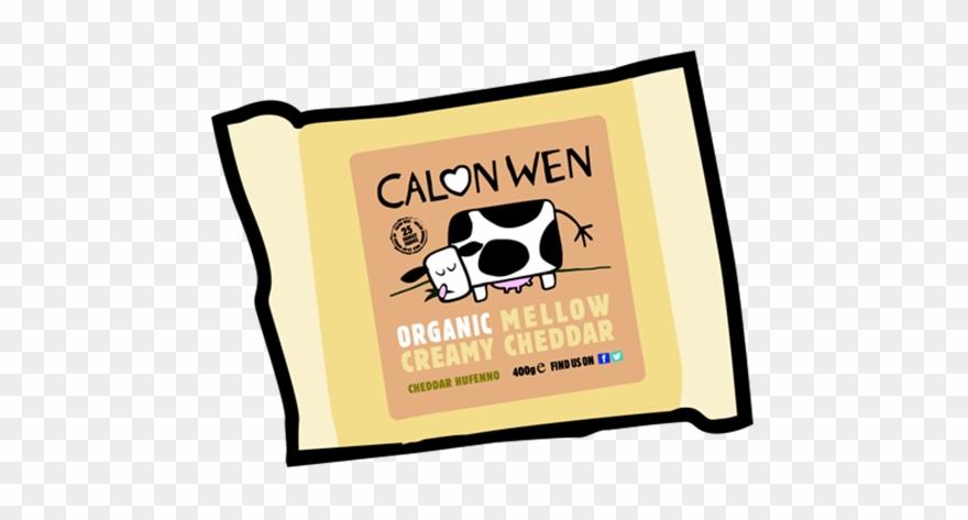 Organic Mellow Creamy Cheddar Cheese 350g.