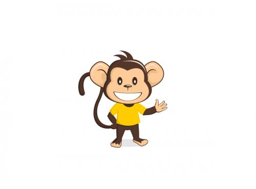 Monkey Illustrations.