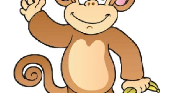 Cheeky monkey clipart.