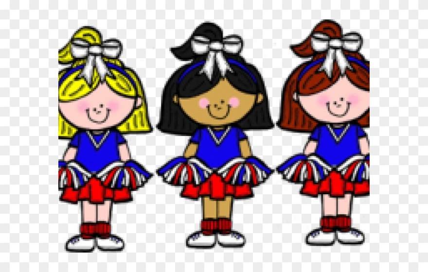 Cheerleader Clipart Transparent Background.