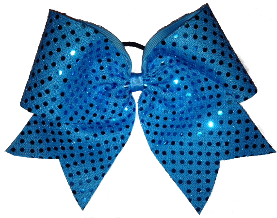 Sequin Cheer Bow.