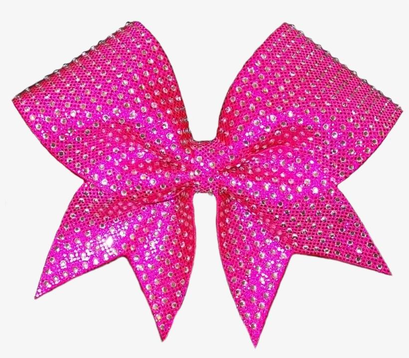 Glitter Bow Ribbon Free Png Image.