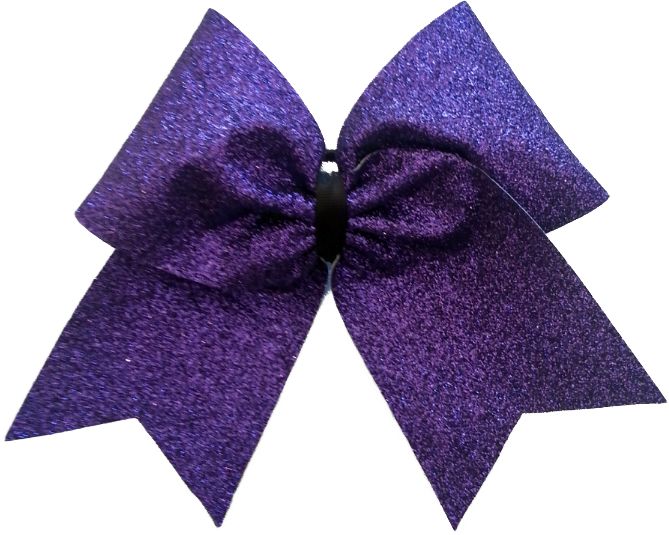 The Basic Frosted Cheer Bow.