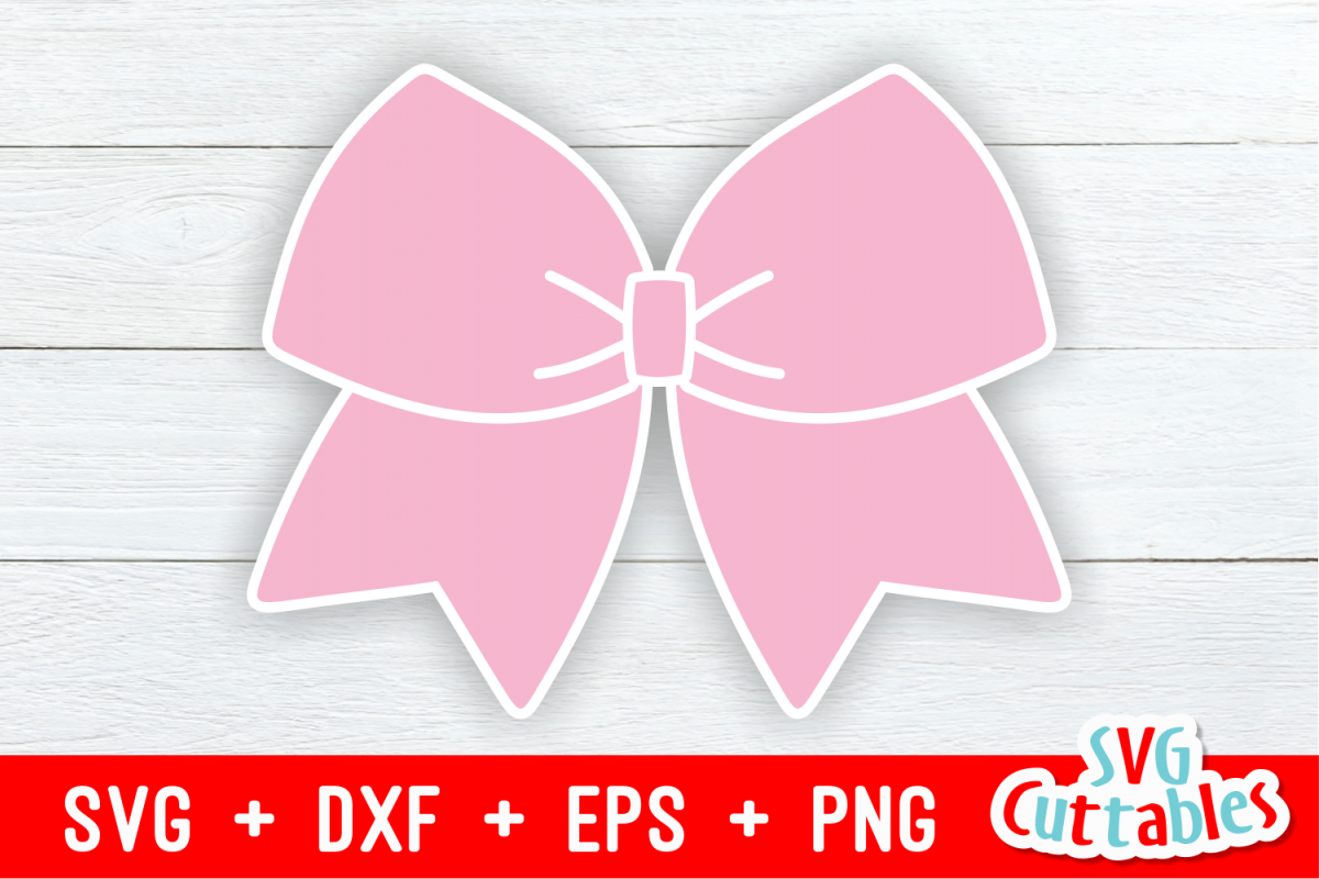 Cheer Bow svg.