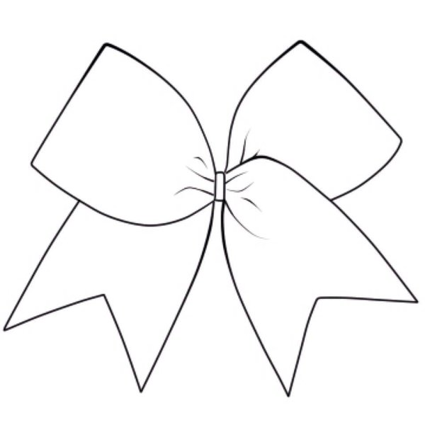 211 Cheer Bow free clipart.
