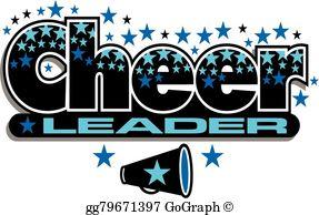 Cheerleader Clip Art.