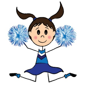 Cheering Clipart.