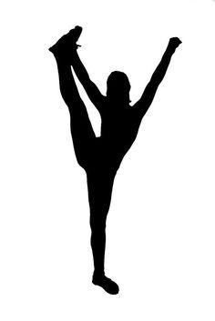 cheerleader+silhouette.