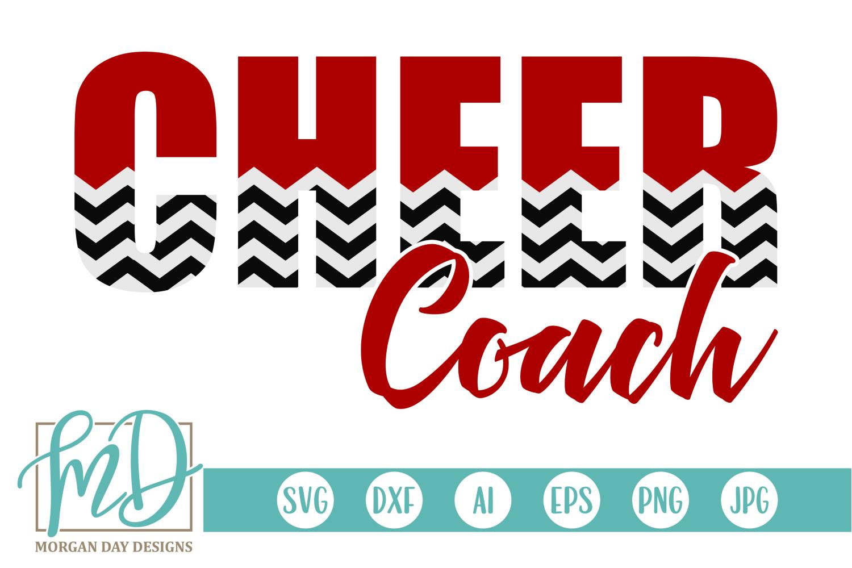 Cheer Coach SVG.