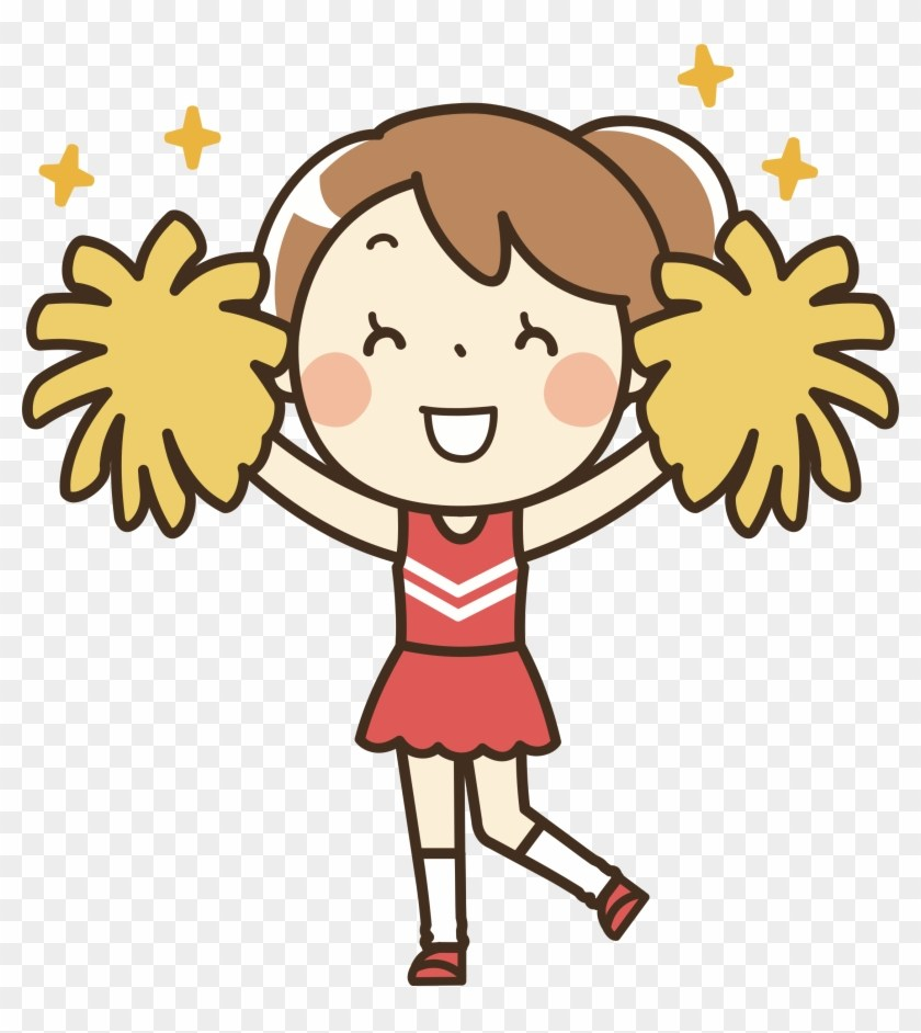 Clipart of cheerleaders free clipart 3 » Clipart Portal.