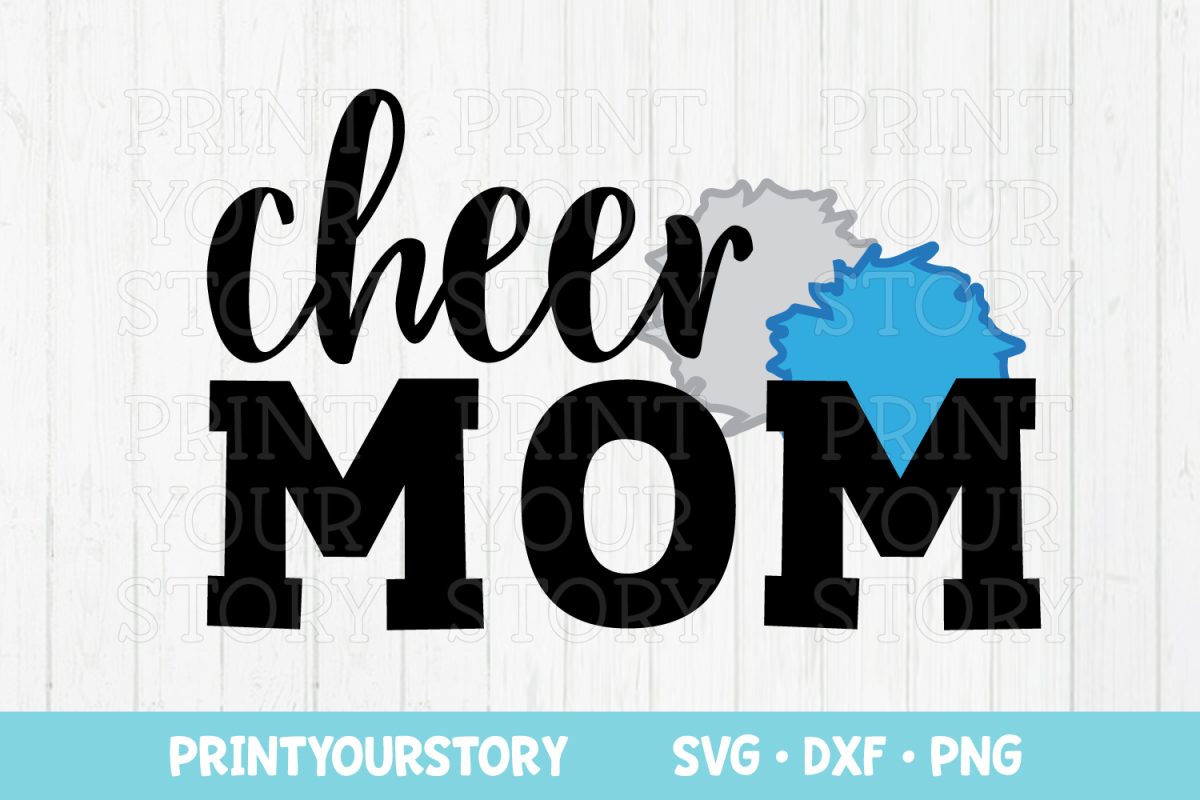 Cheer Mom Clipart.
