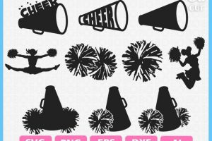 Cheer pom poms clipart 5 » Clipart Station.
