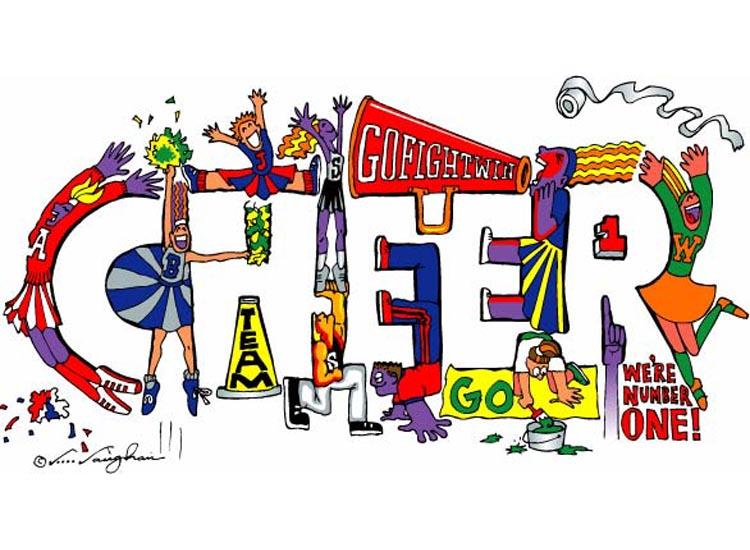 Cheer Hooray Clipart.
