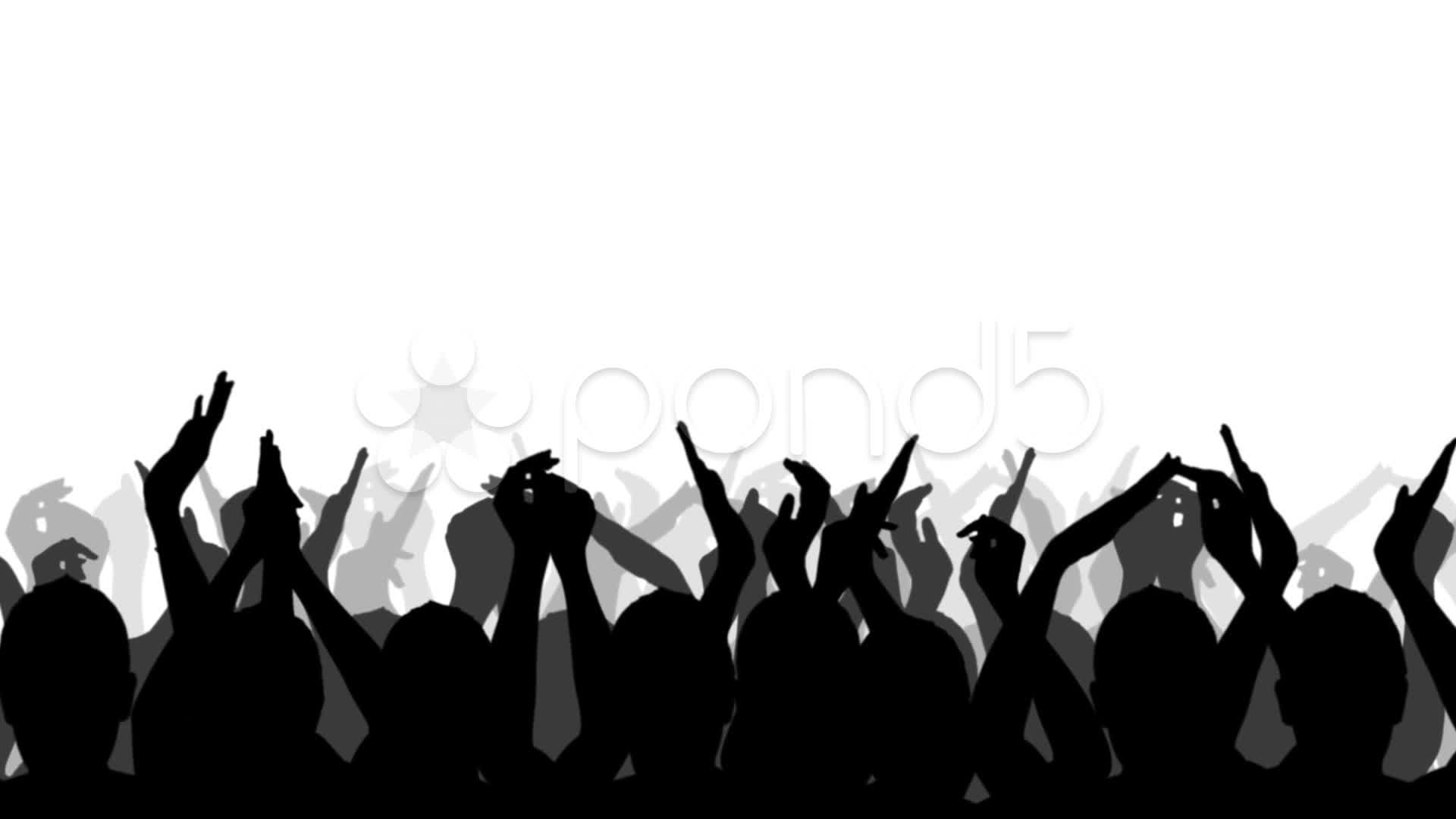 Cheering crowd clipart 3 » Clipart Station.