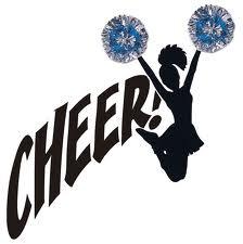 Cheerleader clip art on cheerleading stick figures and cheer 3.