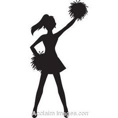 Cheerleader Clipart Free.