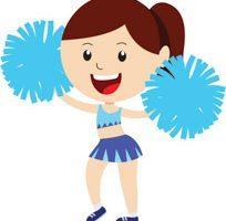 Cheerleader clipart free 6 » Clipart Portal.