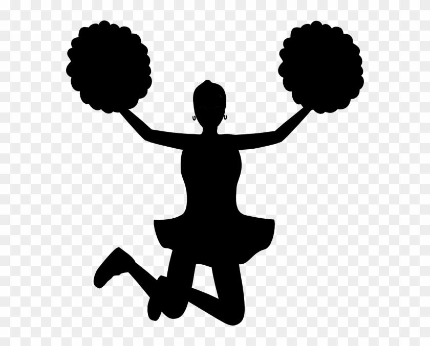 Vector Cheerleader Silhouette At Getdrawings Com Free.