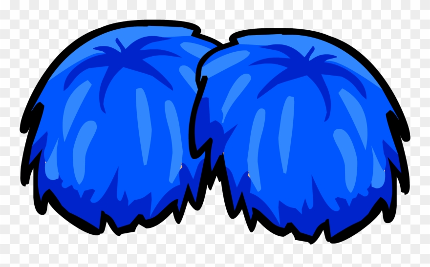 Cheerleader Pom Poms Clipart.