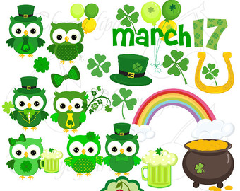 Cheerleader Clipart St Patricks Day.