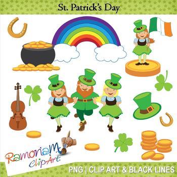 St. Patrick's Day Clip Art.