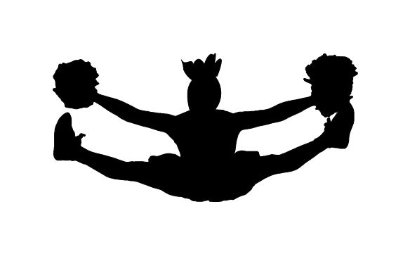 Cheerleading clipart toe touch, Picture #174076 cheerleading.