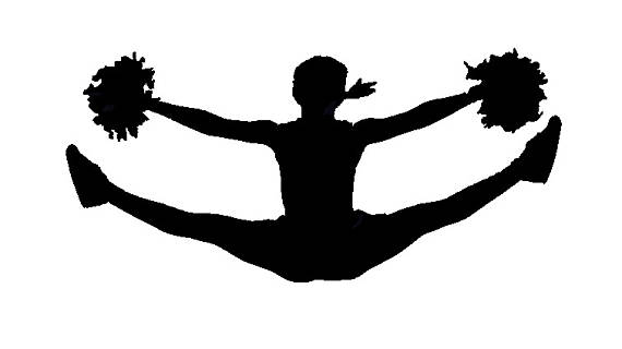 Cheerleading Silhouette Images at GetDrawings.com.
