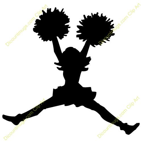 Cheerleading football cheerleader clipart.