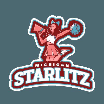 Cheerleader Logo.
