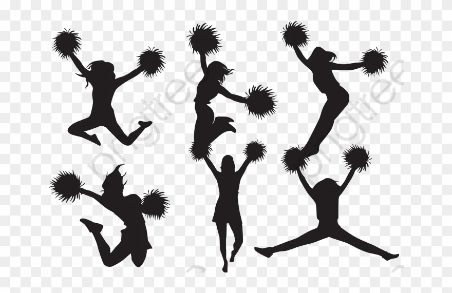 Cheerleaders, Simple, Sketch, Refinement Png Transparent.