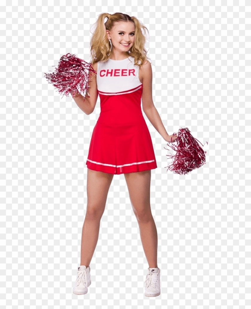Cheerleader Red And White, HD Png Download.