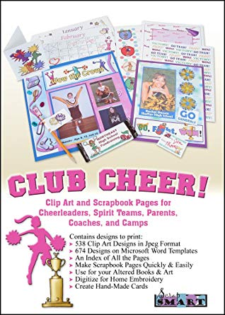 Amazon.com: ScrapSMART Club Cheer Software Clip Art and Scrapbook.