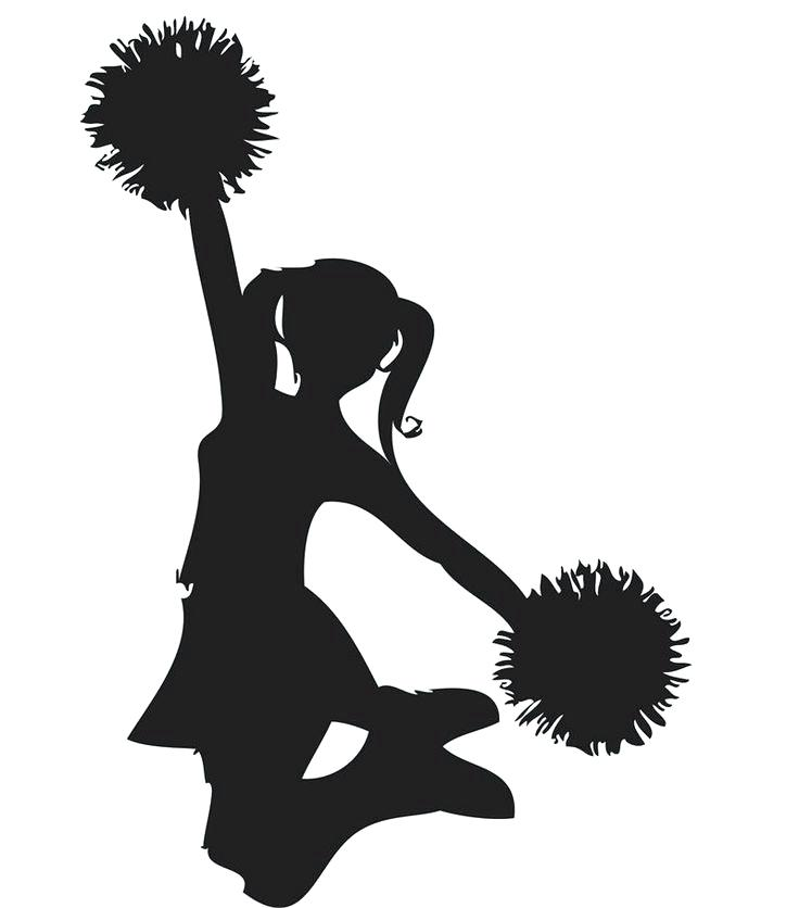 Cheerleaders clipart » Clipart Station.