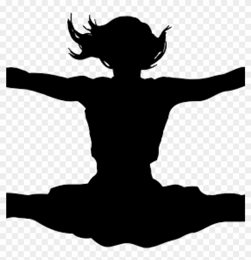 Download Free png Cheer Clipart Cheerleading Jump Clipart.